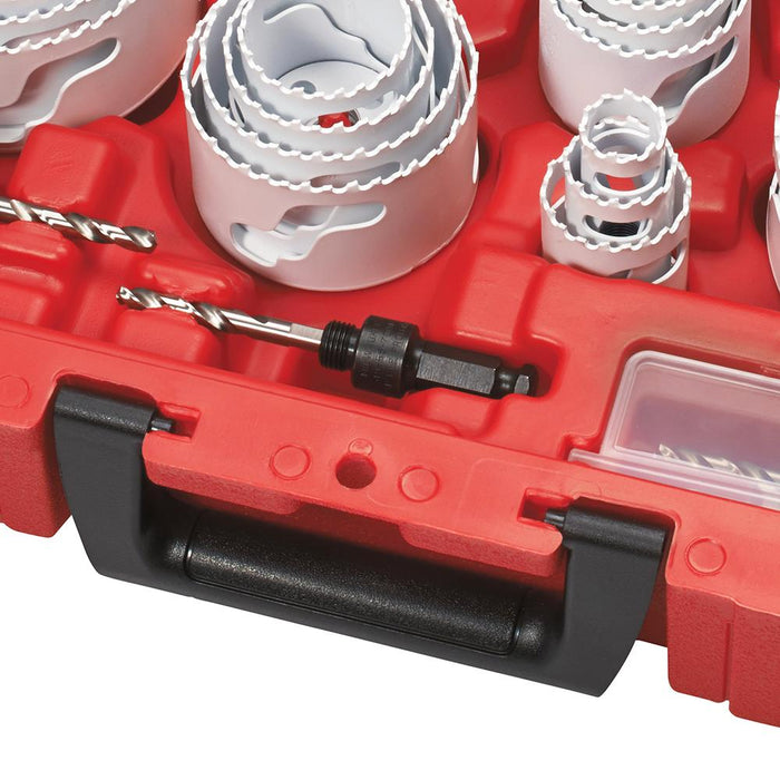 Milwaukee 49-22-4185 All Purpose Professional Hole Dozer Hole Saw Kit - 28pc