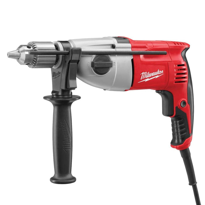"Milwaukee 5378-21 120V AC 1/2"" Pistol Grip Dual Torque Hammer Drill w/ Handle"