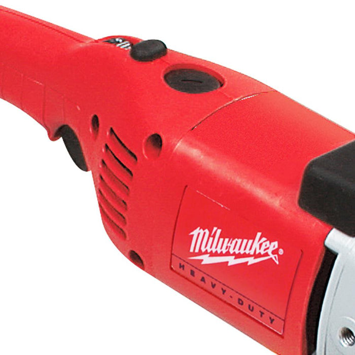 "Milwaukee 5460-6 120V AC 7/9"" Dial Speed Control Polisher with Backing Pad"