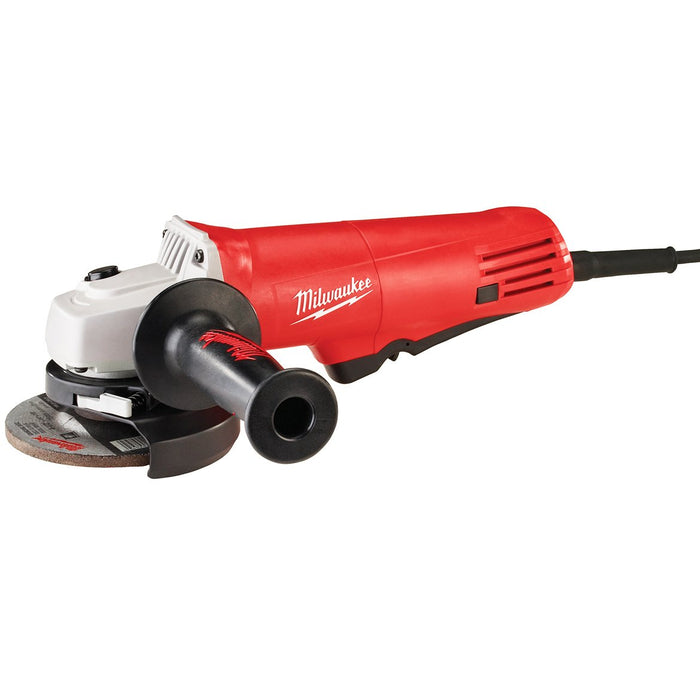 Milwaukee 6140-30 120V AC 7.5 Amp 4-1/2-Inch Small Angle Grinder with Flange