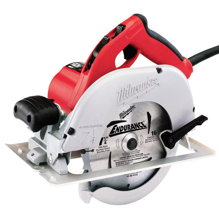 Milwaukee 6391-21 120 AC/DC 7-1/4-Inch Left Blade Circular Saw with Blade Wrench