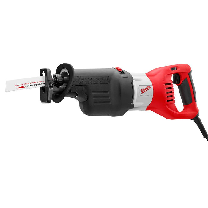 Milwaukee 6538-21 120V AC 15 Amp Super SAWZALL Reciprocating Saw with Case