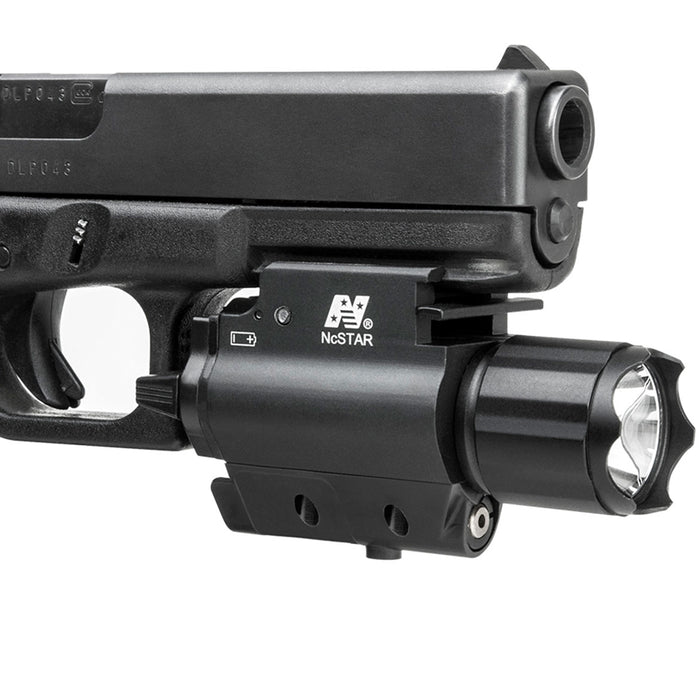 NcStar AQPFLSG 200-Lumen Quick-Release Tactical Green Laser and Flashlight Combo