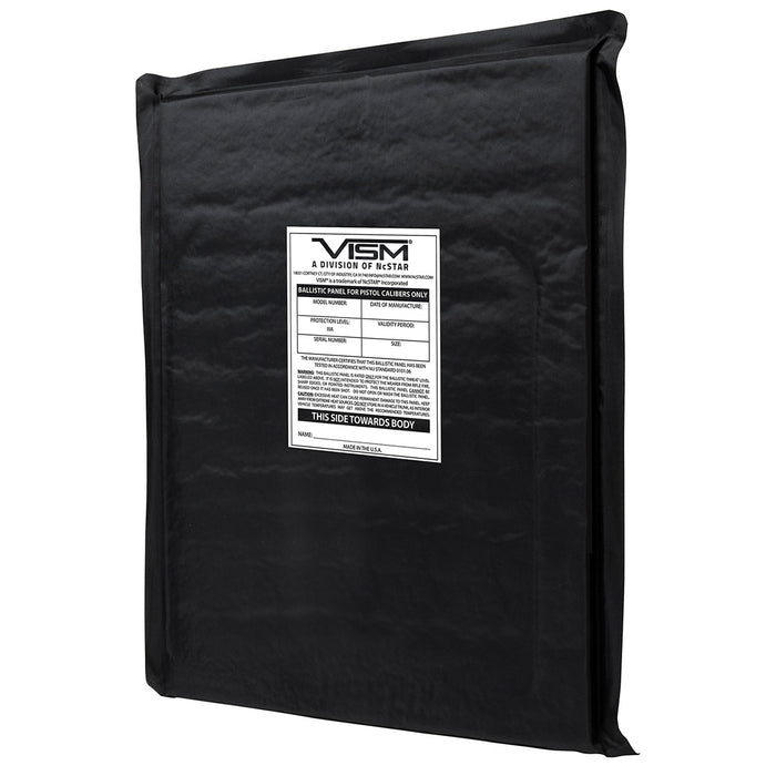 NcStar BSF1114 11-Inch x 14-Inch VISM Soft Ballistic Panel, Rectangle Cut
