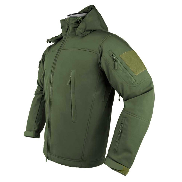 NcStar CAJ2968GL VISM Large Delta Zulu Comfortable Warm Jacket - Green