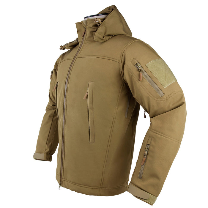 NcStar CAJ2968TXL Polyester and Micro Fleece Delta Zulu Jacket - Tan, XL