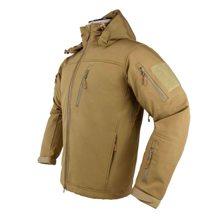 NcStar CAJ2969T4XL VISM XXXX-Large Alpha Trekker Comfortable Warm Jacket - Tan