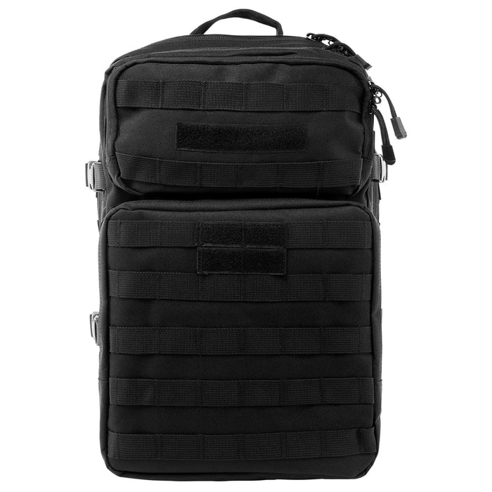 NcStar CBAB2974 18-Inch x 12-Inch x 6.5-Inch MOLLE Backpack, Black