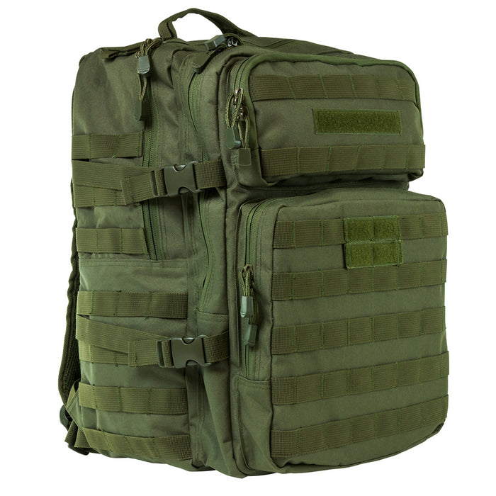 NcStar CBAG2974 18-Inch x 12-Inch x 6.5-Inch MOLLE Backpack, Green