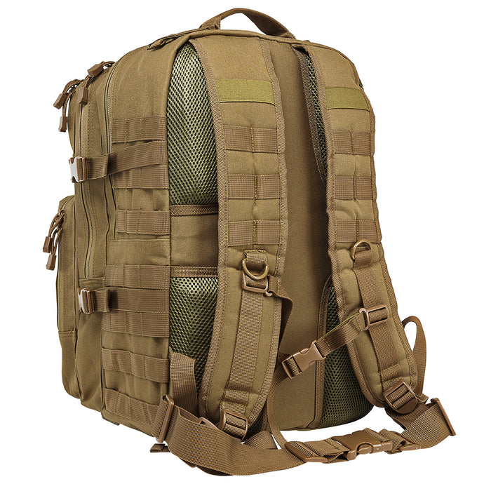 NcStar CBAT2974 18-Inch x 12-Inch x 6.5-Inch MOLLE Backpack, Tan