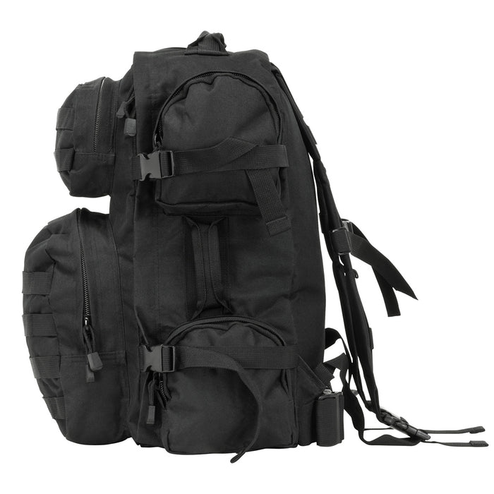 NcStar CBB2911 18-Inch x 12-Inch x 6.5-Inch MOLLE Tactical Backpack, Black