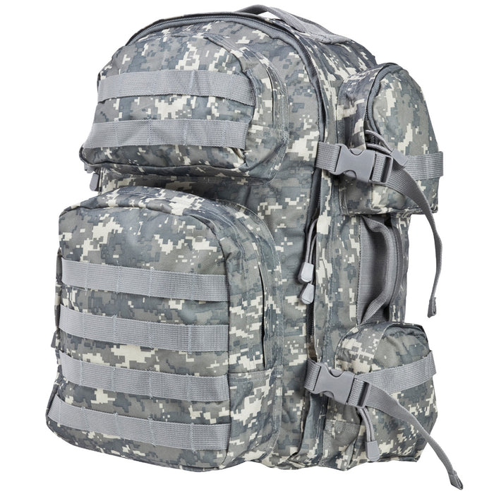 NcStar CBD2911 18-Inch x 12-Inch x 6.5-Inch Tactical Backpack, Digital Camo