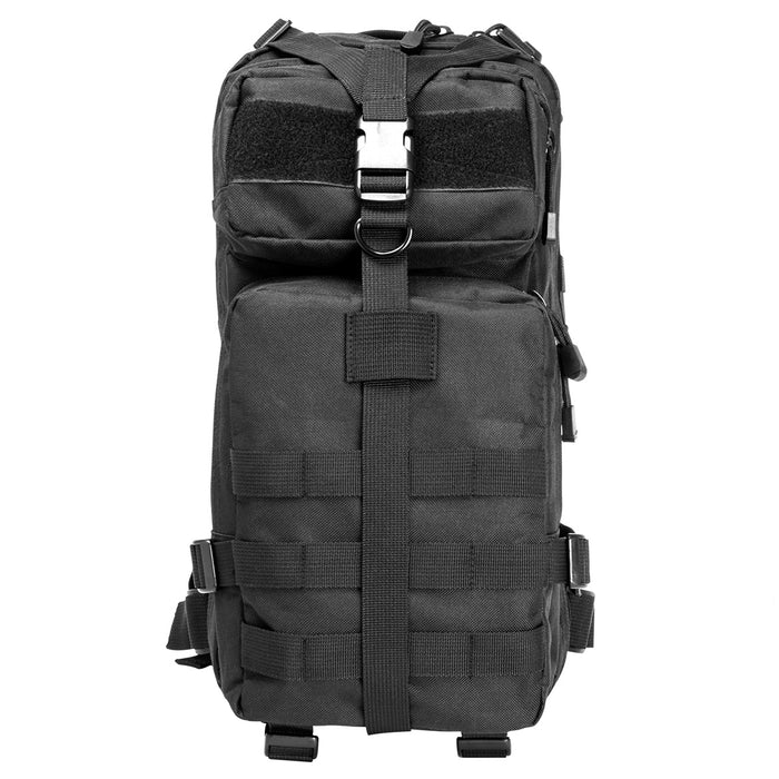 NcStar CBSB2949 17-Inch x 8.75-Inch x 4.5-Inch MOLLE Small Backpack, Black