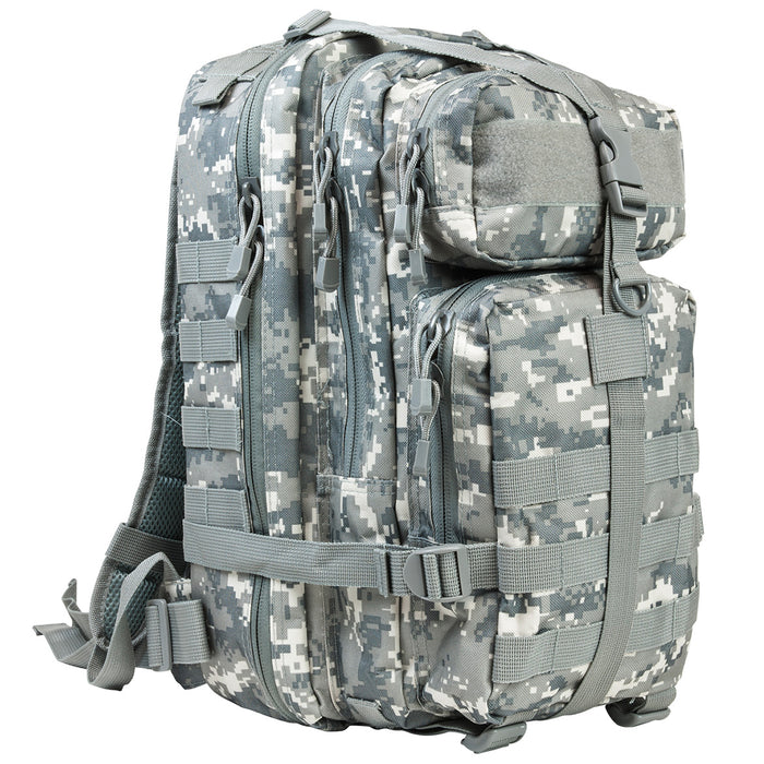 NcStar CBSD2949 17-Inch x 8.75-Inch x 4.5-Inch Small Backpack, Digital Camo
