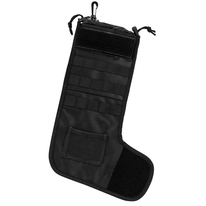 NcStar CNSTKG2987B 15-Inch Tactical Holiday Christmas Stocking - Black