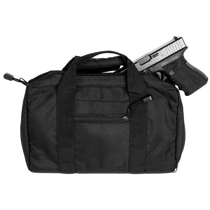 NcStar CPB2903 VISM Series Reinforced Padded Discreet Pistol Case, Black