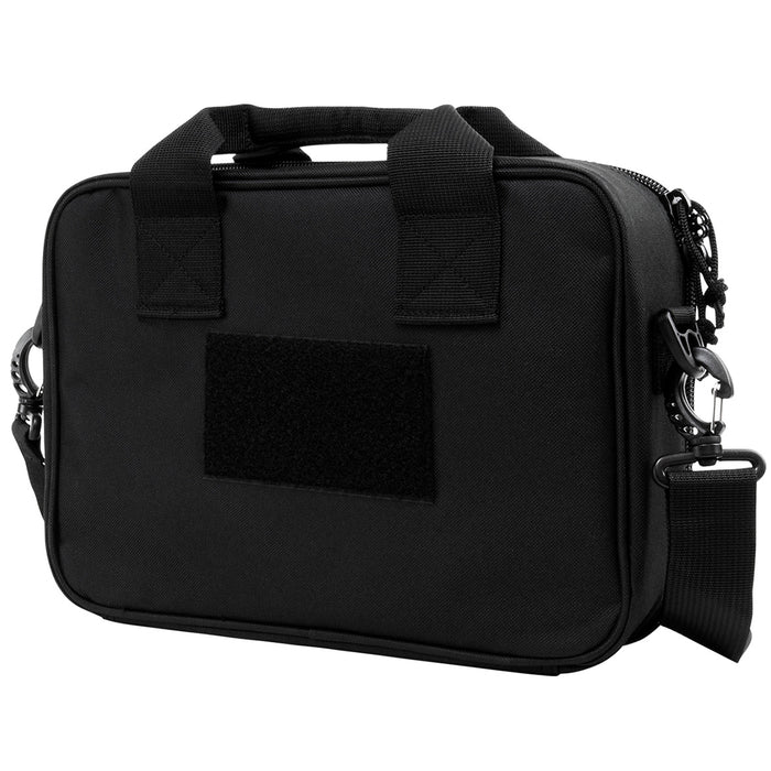 NcStar CPDX2971B 13-Inch x 10-Inch VISM Series Double Pistol Range Bag, Black