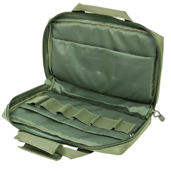 NcStar CPG2903 VISM Series Reinforced Padded Discreet Pistol Case, Green