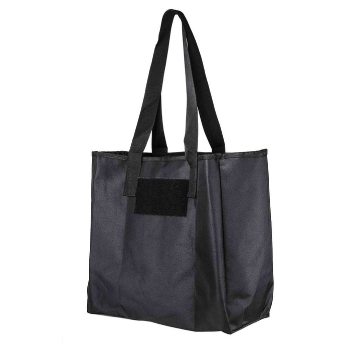 NcStar CSB2997B VISM Large Reusable Grocery Shopping Carry Tote Bag - Black