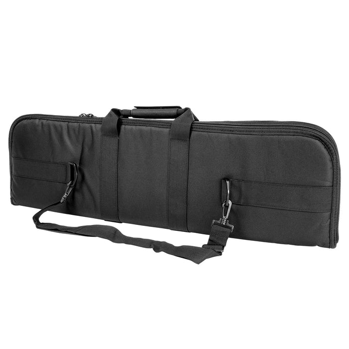 NcStar CV2910-34 34-Inch x 10-Inch Heavy Duty Double Zipper PVC Gun Case, Black