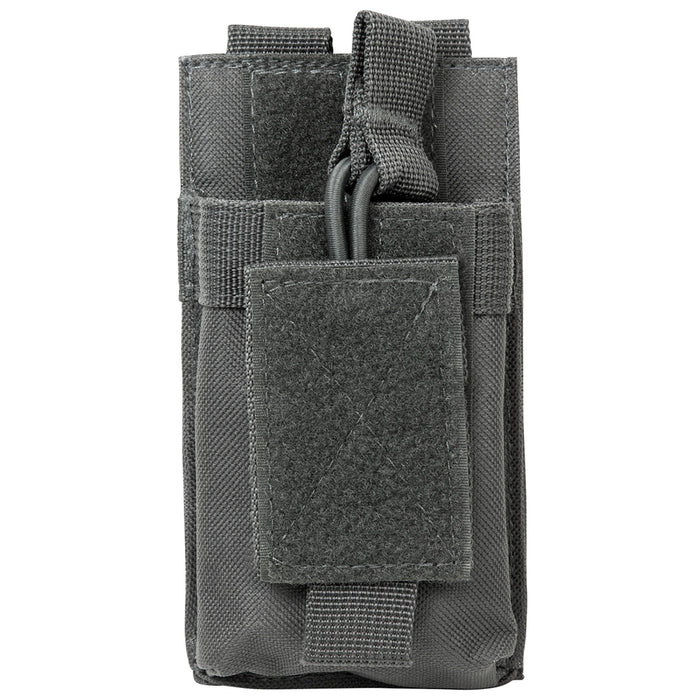 NcStar CVAR1MP2929U VISM Adjustable AR Single Magazine PALS Pouch, Urban Gray
