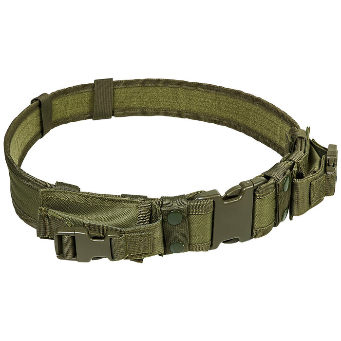 NcStar CVBLT2978G VISM Series Quick Connect Buckle Tactical Belt, Green