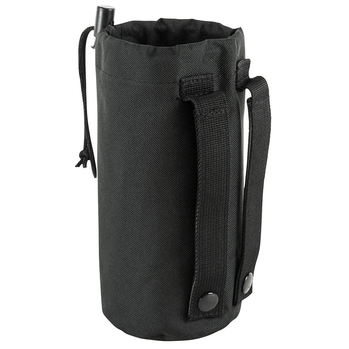 NcStar CVBP2966B 8-Inch x 3-1/4-Inch VISM Hydration Bottle MOLLE Pouch, Black