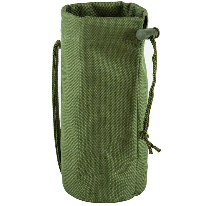 NcStar CVBP2966G 8-Inch x 3-1/4-Inch VISM Hydration Bottle MOLLE Pouch, Green