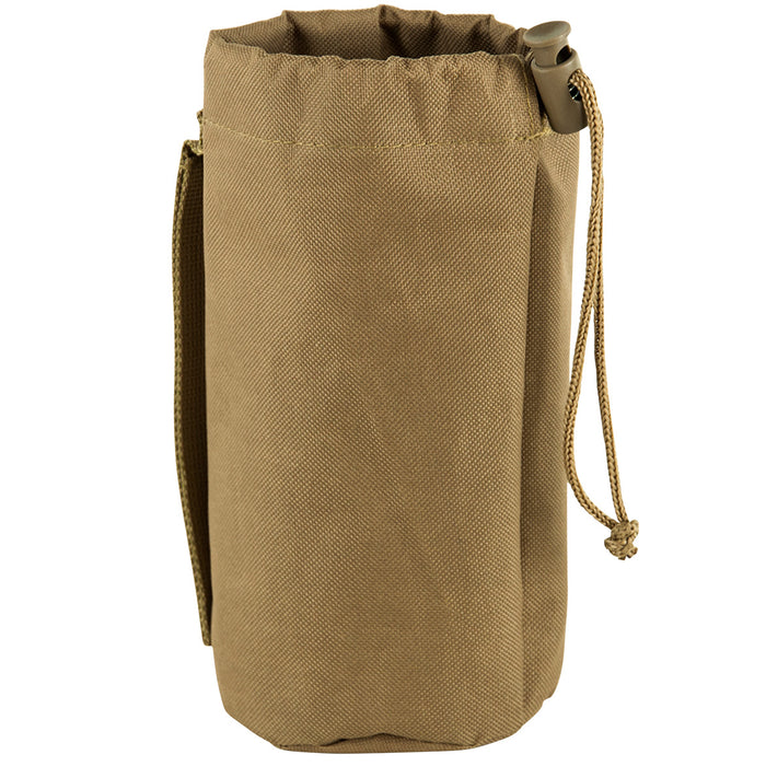 NcStar CVBP2966T 8-Inch x 3-1/4-Inch VISM Hydration Bottle MOLLE Pouch, Tan