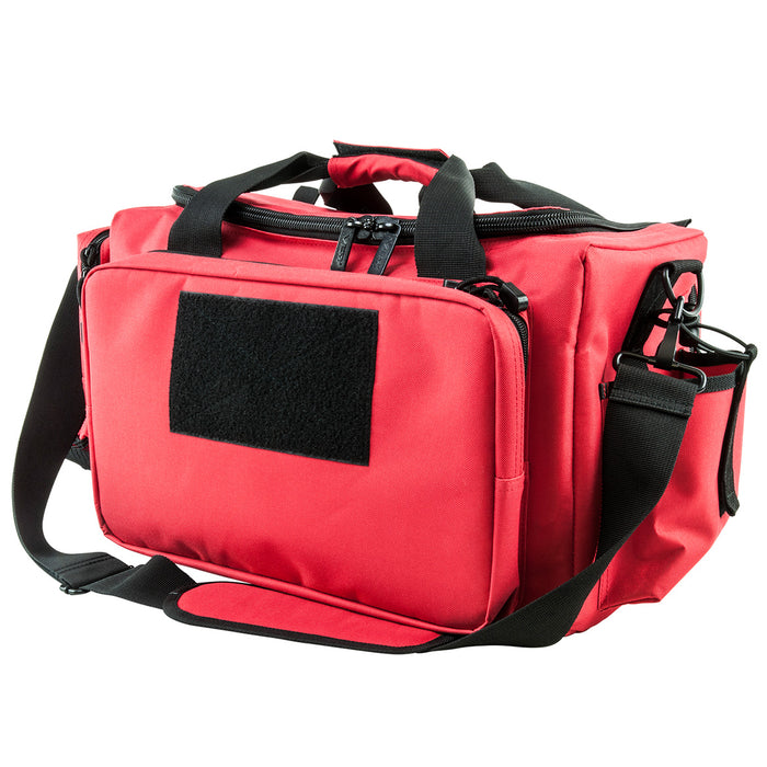 NcStar CVCRB2950R 20.5-Inch x 10-Inch VISM Competition Range Bag, Red and Black
