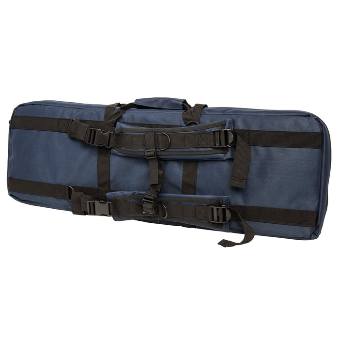NcStar CVDC2946BL-36 VISM Series Double Carbine PVC Case - Blue, 36-Inch