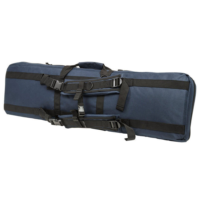 NcStar CVDC2946BL-42 VISM Series Double Carbine PVC Case - Blue, 42-Inch