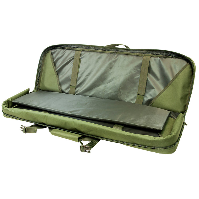 NcStar CVDC2946G-36 VISM Series Double Carbine PVC Case - Green, 36-Inch