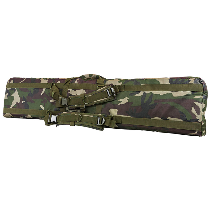 NcStar CVDC2946WC-55 55-Inch x 13-Inch Deluxe Double Rifle Case - Woodland Camo