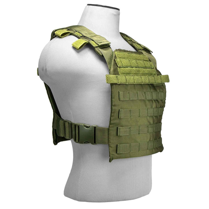 NcStar CVPCF2995B 10-Inch x 12-Inch MOLLE Fast Plate Carrier Vest - Green
