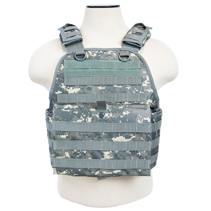 NcStar CVPCV2924D VISM Fully-Adjustable Plate Carrier, Med-2XL, Digital Camo