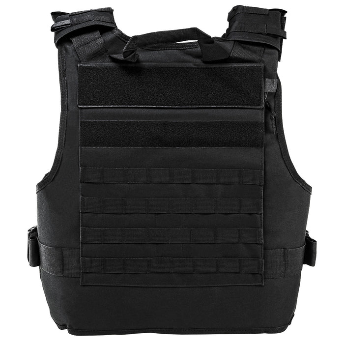 NcStar CVPCVEPL2984B VISM Series Plate Carrier w/ Pockets, 2XL+ - Black