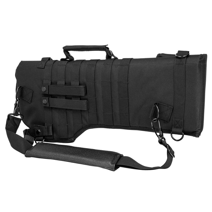 NcStar CVRSCB2919B VISM Series MOLLE Webbed Tactical Rifle Scabbard, Black