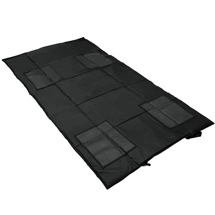NcStar CVSHMR2957B VISM Series Slip Resistant Roll-Up Shooting Mat, Black