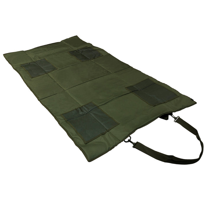 NcStar CVSHMR2957G VISM Series Slip Resistant Roll-Up Shooting Mat, Green