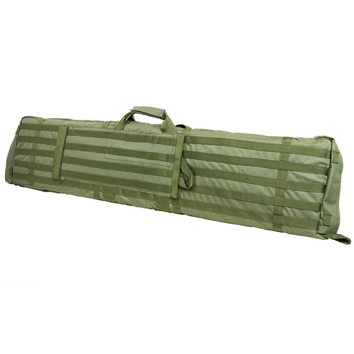 NcStar CVSM2913G VISM Series Deluxe Shooting Mat/ Double Rifle Case, Green