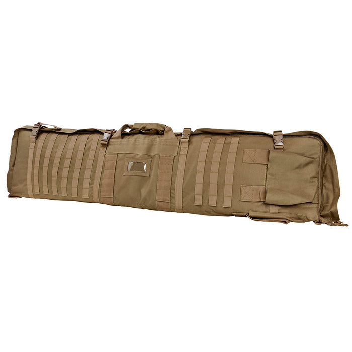 NcStar CVSM2913T VISM Series Deluxe Shooting Mat/ Double Rifle Case, Tan