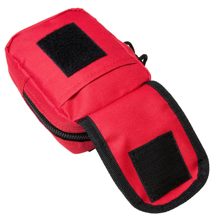 NcStar CVSUP2934R 6-1/2-Inch Quick-Flap MOLLE Small Utility Pouch, Red