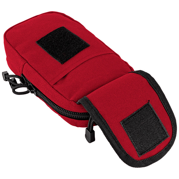 NcStar CVSUPL2965R 8-Inch Quick-Flap MOLLE Large Utility Pouch, Red