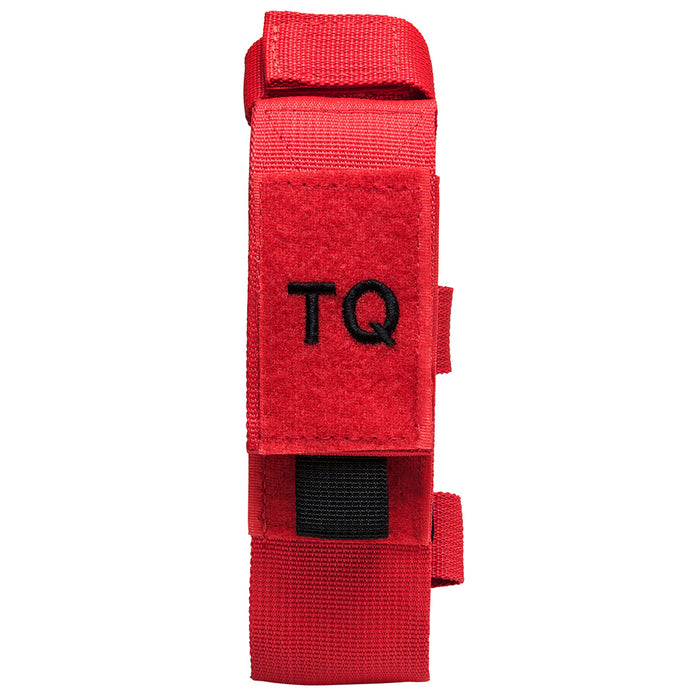 NcStar CVTQ2990R 7-Inch Tourniquet and Trauma Tactical Shear Pouch, Red