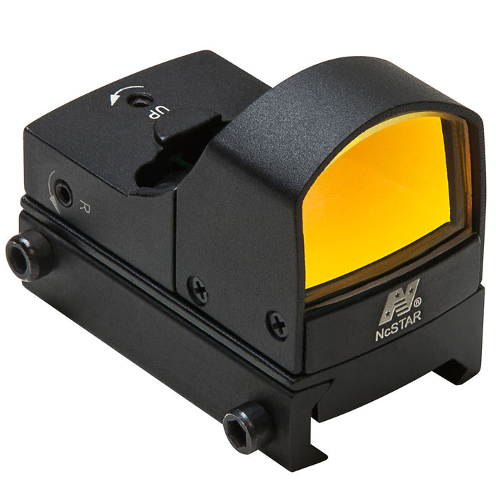 NcStar DDAB Micro Compact Tactical Multi-Mount Red Dot Reflex Sight, Black