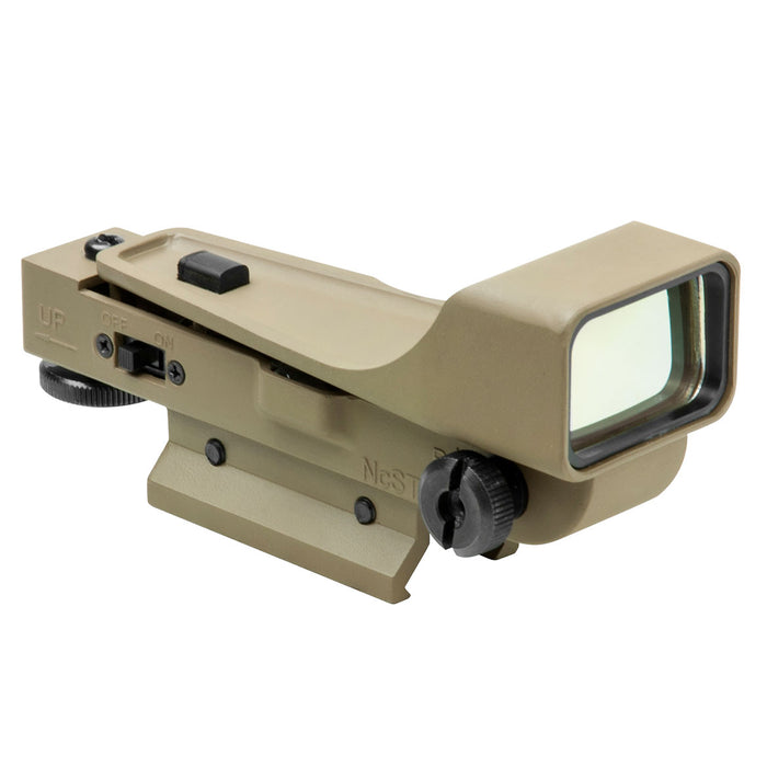 NcStar DPTV2 Gen 2 Integrated Mount Aluminum Body Red Dot Reflex Sight, Tan