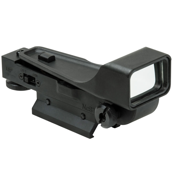 NcStar DPV2 Gen 2 Integrated Mount Aluminum Body Red Dot Reflex Sight, Black