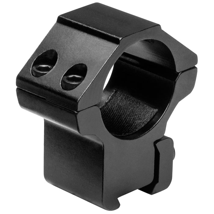 NcStar RB25 1-Inch x 1.1-Inch Aluminum 3/8-Inch Dovetail Optics Rings, Black
