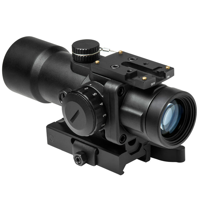 NcStar SEECPRQ3532G 3.5x32mm Urban Tactical Prismatic Optic Compact Scope